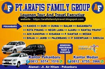 Travel Pekanbaru Medan